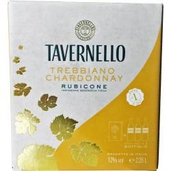 Tavernello bag trebbiano bianco chardonnay lt.2,25