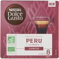 NESCAFÉ DOLCE GUSTO ESPRESSO PERU caffè espresso 12 capsule (12 tazze)