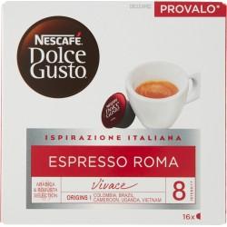 NESCAFÉ DOLCE GUSTO ESPRESSO ROMA Caffè espresso 16 capsule (16 tazze)