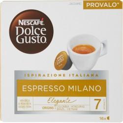 NESCAFÉ DOLCE GUSTO ESPRESSO MILANO Caffè espresso 16 capsule (16 tazze)