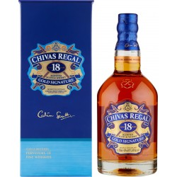 Chivas Regal Aged 18 Years Blended Scotch Whisky Gold Signature 70 cl.