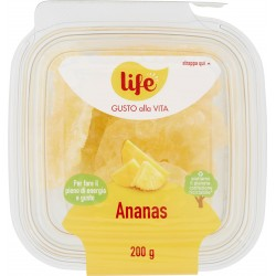 Life Gusto alla Vita Ananas disidratato 200 gr.