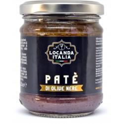 Locanda Italia pate olive nere gr.180