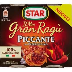 Star il Mio Gran Ragù Piccante con Peperoncino 2 x 180 gr.