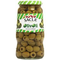 Sacla olive snocciolate - gr.560