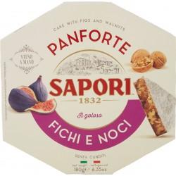 Sapori Panforte Fichi e Noci 180 gr.