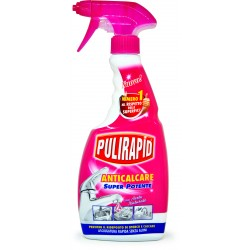 Pulirapid AntiCalcare aceto spray 500 ml.