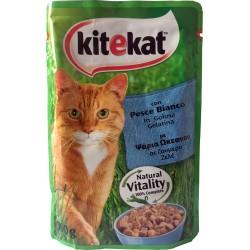 KiteKat in busta pesce bianco gr.100