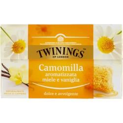 Twinings Camomilla Aromatizzata Miele e Vaniglia 20 x 1,5 g