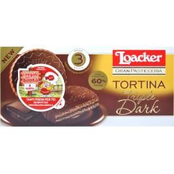 Loacker Tortina Tripledark gr.63