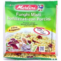 Funghi misti liofilizzati Merlini gr.15