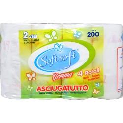 Soft Soft asgiugatutto gemma 4 rotoli