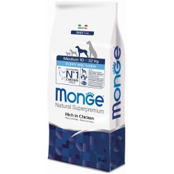 Monge dog medium puppy pollo kg.12