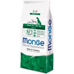 Monge dog maxi adult pollo kg.12