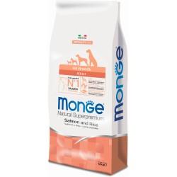Monge dog all breeds salmone riso kg.12