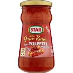 Star Il Mio Gran Ragù con Polpette Salsiccia 360 gr.