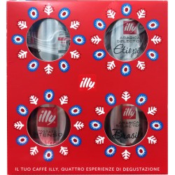 Illy confezione Natale cofanetto gr.500