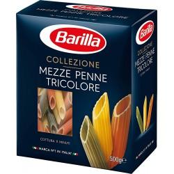 Barilla mezze penne tricolore gr.500