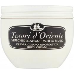 Tesori d'Oriente Crema corpo aromatica muschio bianco 300 ml