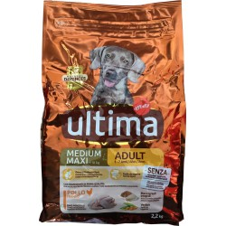 Ultima Dg medium/maxim adult pollo kg.2,2