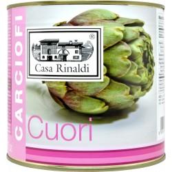 Casa Rinaldi cuori carciofi interi al naturale kg.2,6