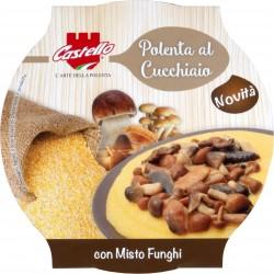 Castello polenta con misto funghi gr.350