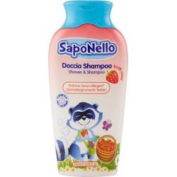 SapoNello Doccia Shampoo frutti rossi 250 ml.