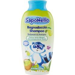 SapoNello Bagnodoccia Shampoo pera 400 ml.