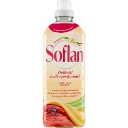 Soflan Soffio di Vaniglia detersivo Lana, Delicati & Sintetici 900 ml.
