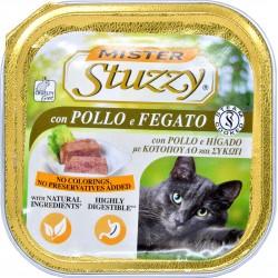 Mister Stuzzy Cat pollo e fegato gr.100