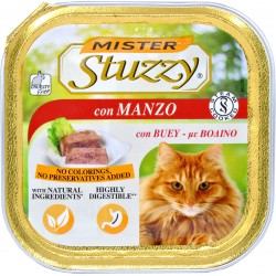 Mister Stuzzy Cat con manzo gr.100