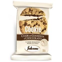 Falcone cookie gianduia cioccolata gr.50