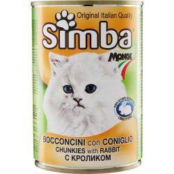 Simba Bocconcini con Coniglio per gatti 415 gr.