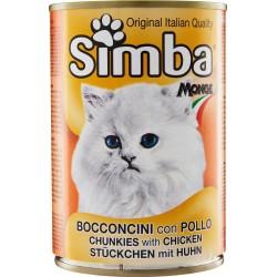 Simba Bocconcini con Pollo per gatti 415 gr.