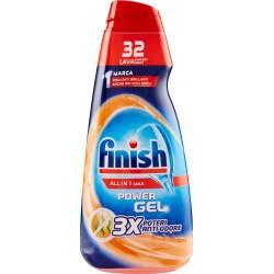 Finish All in 1 Max Power Gel 3X Poteri Anti-Odore 650 ml.