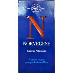 Salmone affumicato norvegese 500 gr.