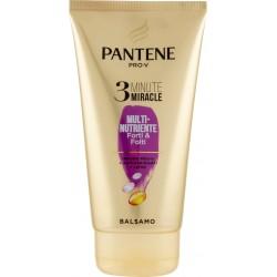 Pantene Pro-V 3 Minute Miracle Balsamo Multi-Nutriente Forti & Folti 150 ml.