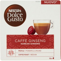 NESCAFÉ DOLCE GUSTO CAFFÈ GINSENG Caffè al Ginseng 16 capsule (16 tazze)