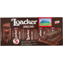 Loacker Double Choc 5 x 45 gr.
