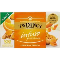 Twinings infuso aromatizzato Curcuma e Arancia 20 x 2 gr.