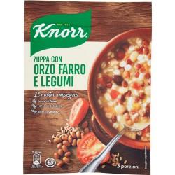 Knorr Zuppa con Orzo Farro e Legumi 119 g