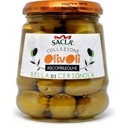 Sacla olive bella di cerignola gr.479