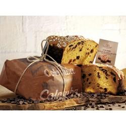 Borsari colomba con gocce di cioccolato incartata rustica kg.1