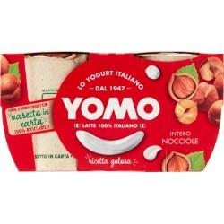 Yomo Yogurt Intero con Nocciole 2 x 125 gr.