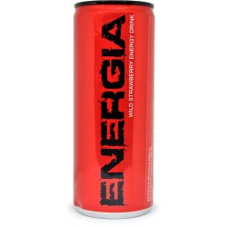 Energia wild strawberry energy drink cl.25