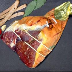 Prosciutto crudo di Parma addobbo senza osso kg.8,3 circa stagionatura 18 mesi