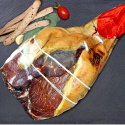 Prosciutto crudo San Daniele addobbo senza osso kg.8,3 circa stagionatura 18 mesi