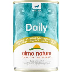 Almo nature Daily Adult Dog con Tacchino 400 gr.