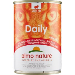 Almo nature Daily Adult Cat con Manzo 400 gr.