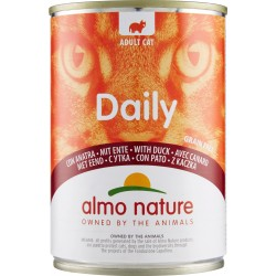 Almo nature Daily Adult Cat con Anatra 400 gr.